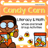 Candy Corn Literacy & Math Activities Preschool, PreK, & Kinder