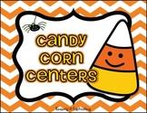 Candy Corn Literacy & Math Centers