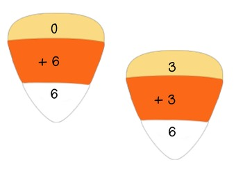 Candy Corn Match Up- Addition