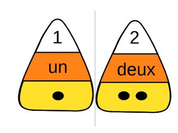Candy Corn Matching [French]