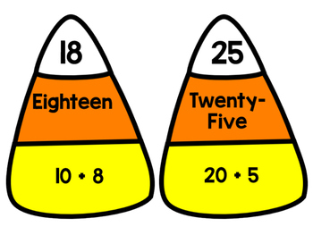 Candy Corn Matching Game (Second Grade)