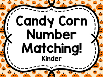 Candy Corn Matching Game (Kinder)