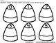 Candy Corn Matching Game - Numbers 0-10 - Common Core Aligned