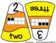 Candy Corn Matching Game - Numbers 0-10