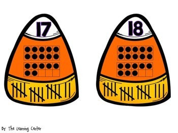 Candy Corn Matching: Number Sense