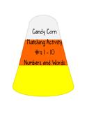Candy Corn Matching One