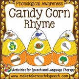 Candy Corn Matching- Rhyme