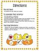 Vocabulary - Candy Corn Matching