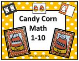 Fall Kindergarten Math 1-10 (Candy Corn Theme)