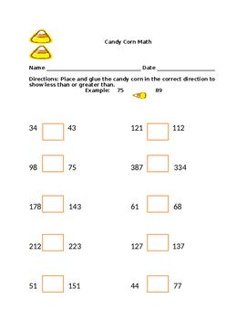 Candy Corn Math 1
