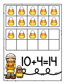 Candy Corn Teen Numbers