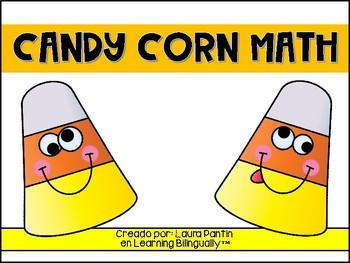 Candy Corn Math Bilingual