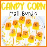 Candy Corn Math Bundle | Mini Eraser Activities