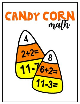 Candy Corn Math Center