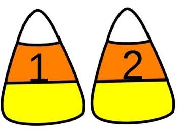 Candy Corn Math Counting