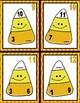 Candy Corn Math  --  Halloween Task Card Fact Family Practice!