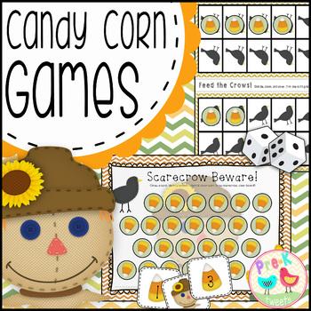 Candy Corn Math Games