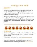 Super Fun Halloween Candy Corn Daily Math Word Problems
