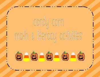Candy Corn Math & Literacy Activities