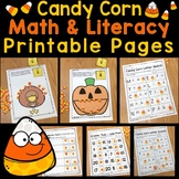 Candy Corn Math & Literacy Printable Pages