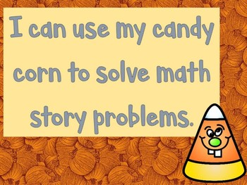 Candy Corn Math - Math Stories With Related Subtraction and Addition Facts