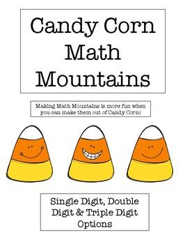 Candy Corn Math Mountains