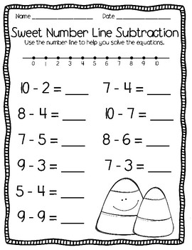 Candy Corn Math Printables