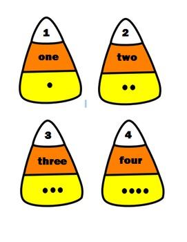 Candy Corn Math Puzzles