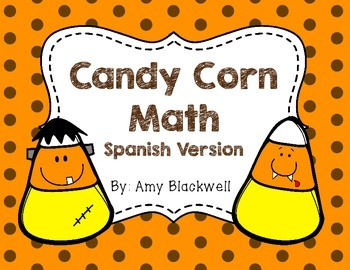 Halloween Math - SPANISH