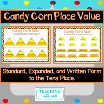 Candy Corn Math: Standard, Expanded, and Written Forms
