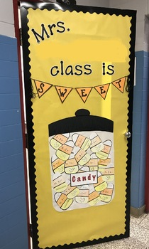 Candy Corn Math Subtraction For Decoration Classroom Door
