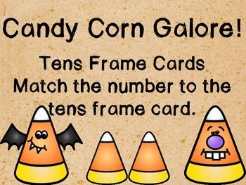 Candy Corn Math and LIteracy Freebie