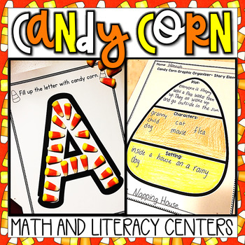 October/Halloween Math and Literacy Centers and Activities