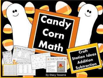 Candy Corn Math and More : Halloween Fun