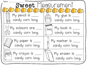 Candy Corn Math-tivities