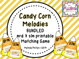 Candy Corn Melodies: A Bundled Melody Matching Game
