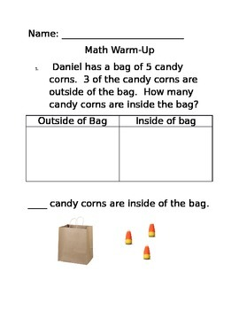 Candy Corn Missing Part