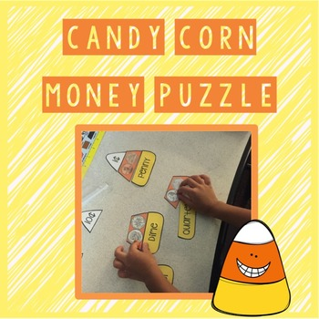 Candy Corn Money Puzzle