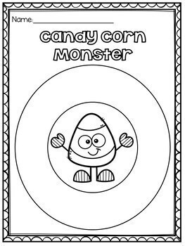 Candy Corn Monster Craftivty