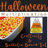 Candy Corn Multiplication Craftivity and Bulletin Board 3OA1