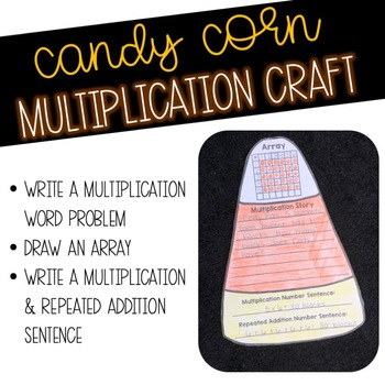 Candy Corn Multiplication Craft
