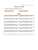 Candy Corn Multiplication (Grouping)