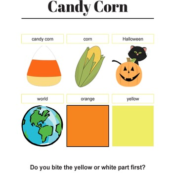 Candy Corn Music and Activities