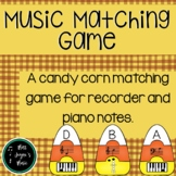 Candy Corn Note Naming Puzzles