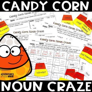 Candy Corn Noun Printables