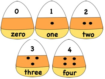 Candy Corn Number Game