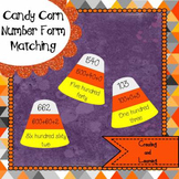 Candy Corn Number Forms Matching