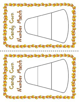 Candy Corn Number Match