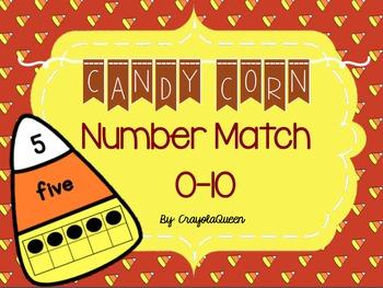 Candy Corn Number Match [FREEBIE!]