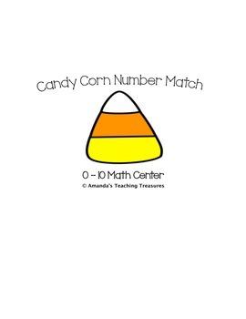 Candy Corn Number Match Center